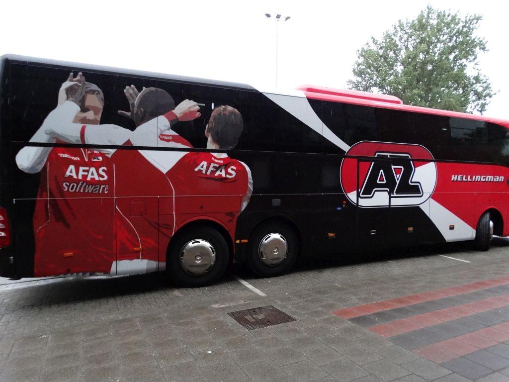 De eerste gasten van het seizoen 2015/2016 komen uit Alkmaar.