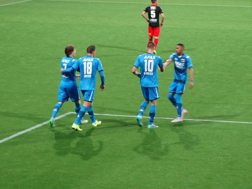 1-1: Marcus Henriksen