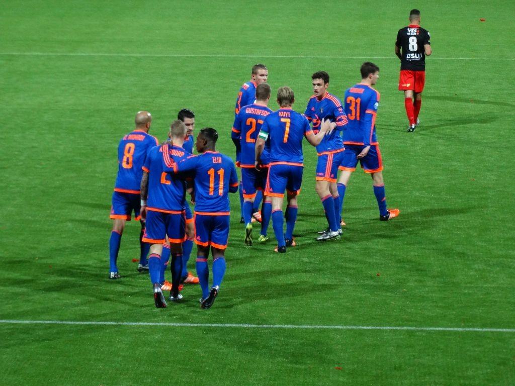 Opnieuw vreugde dus bij Feyenoord.