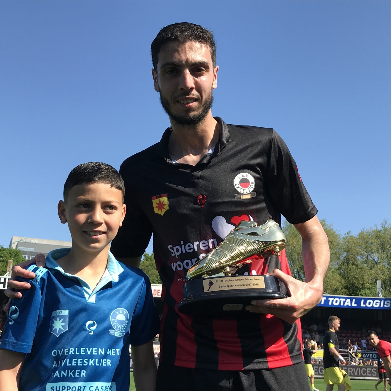 Hicham Faik verkozen tot speler van het jaar
