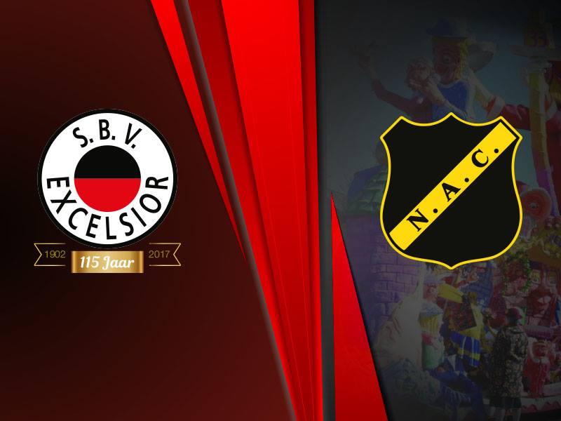 Gelijkspel tegen NAC Breda